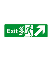 Fire exit upstairs